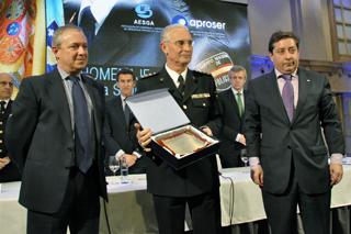 Homenaje de la Seguridad Privada a la Jefatura Superior de Policía de Galicia.